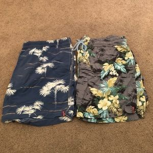 Tommy Bahama Swim Trunks Set of 2